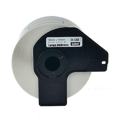 1 Roll 700 Label (1 Roll White DK 1208 Address Label For Brother DK1208 QL-500 550 570 580N 700 )