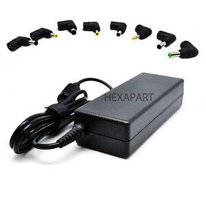 Chargeur Universel 70w Pc Portable Ac Power Adaptateur Secteur Alimentation Ebay