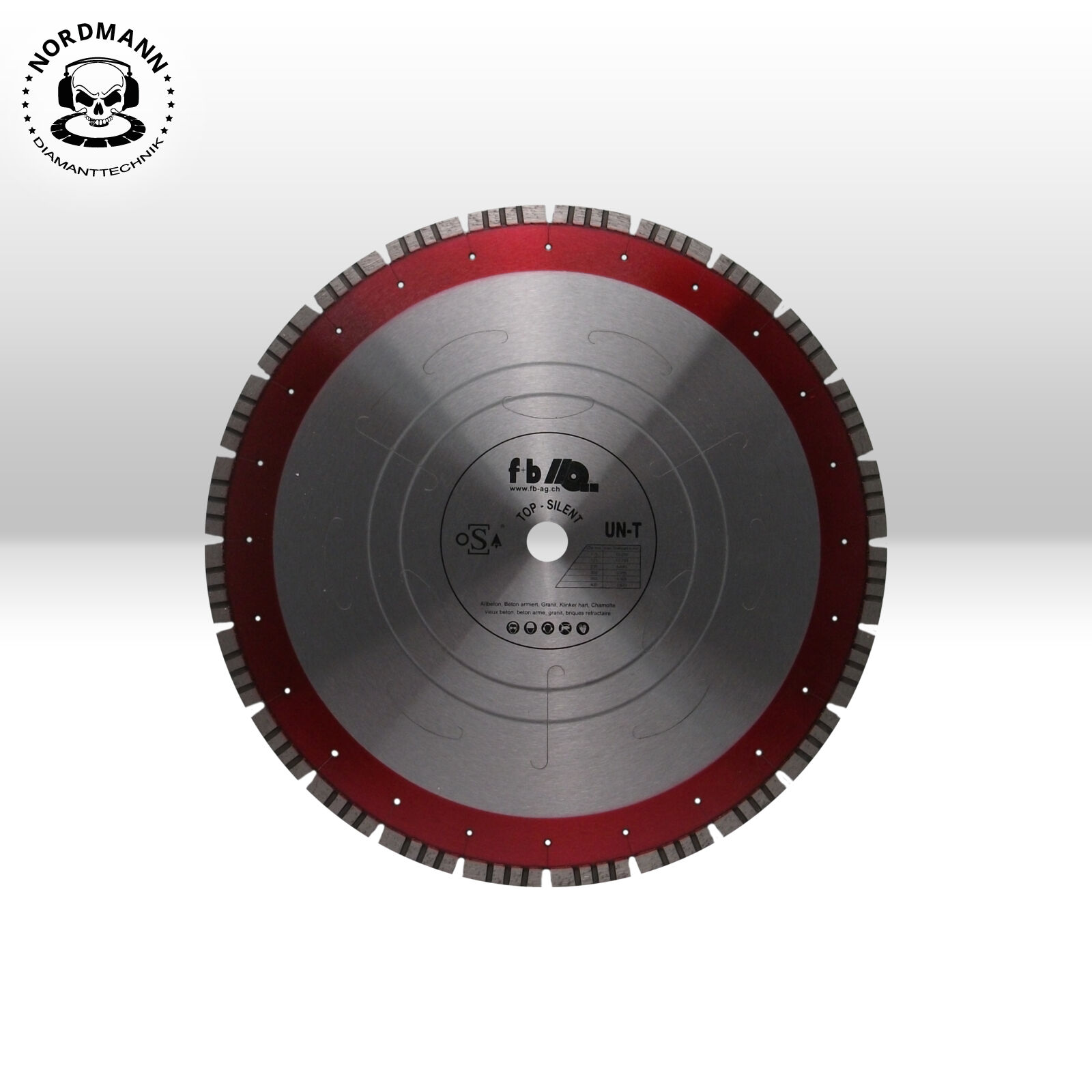 Diamant Trennscheibe Ø 300 x 30 mm Supersonic V12 Granit
