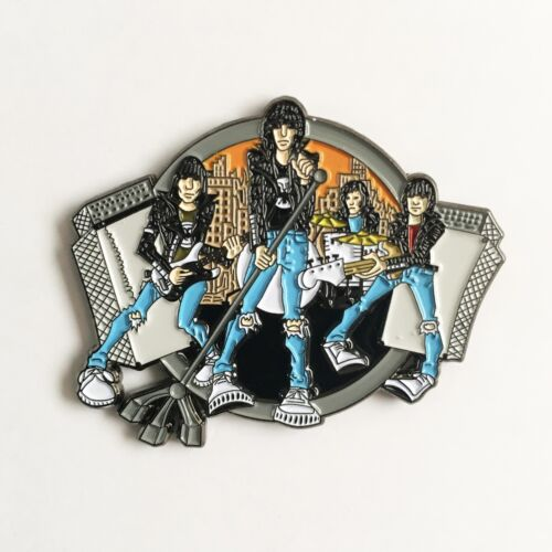 THE RAMONES Road To Ruin enamel pin punk rock cbgb dee dee