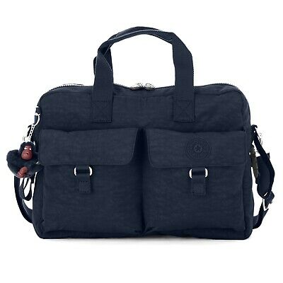 NWT Kipling Large Baby Diaper Tote Bag Black TM2406