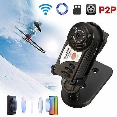 BEST Wireless Spy Mini security hidden Cam camera with DVR HD Night Vision
