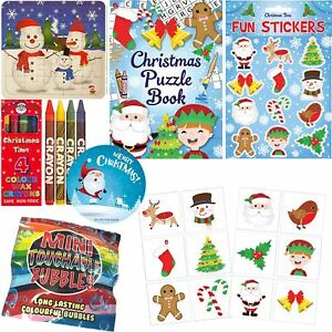 Kids Christmas 6 Activity Pack Boys Girls Xmas Stocking Fillers Gifts Toys