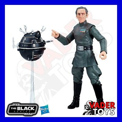 Star Wars The Black Series Hasbro Grand Moff Tarkin 6 inch Action Figure IN HAND