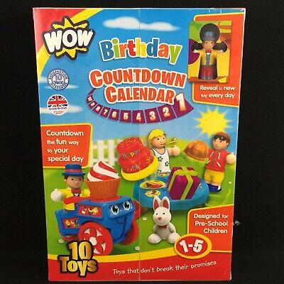 NEW Birthday Countdown Calendar Imaginative Play Set WOW Great British Design (Great Imaginative Play Toys)
