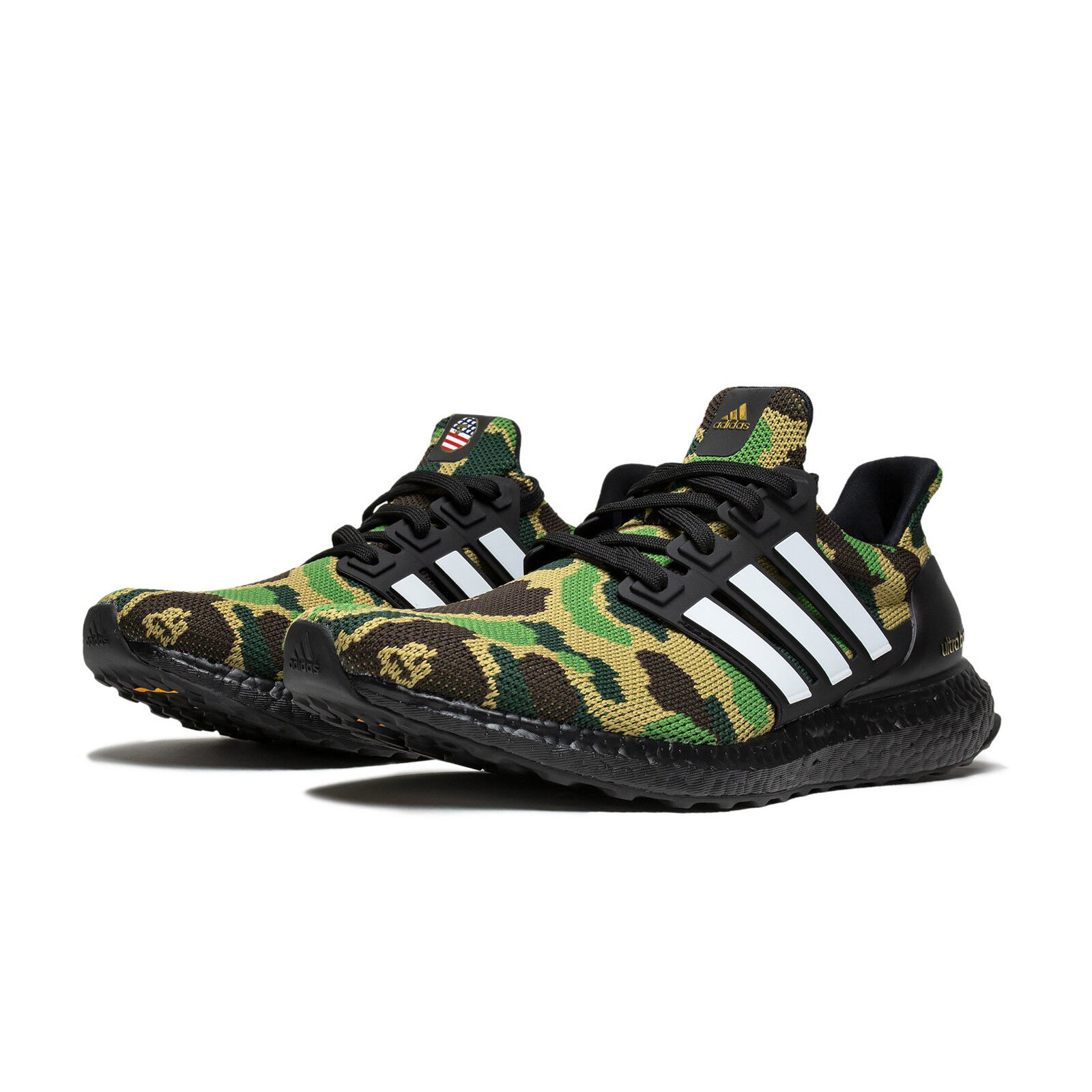 deaf179fd BAPE X adidas Consortium A Bathing Ape Superbowl UltraBOOST 4.0 Green Camo