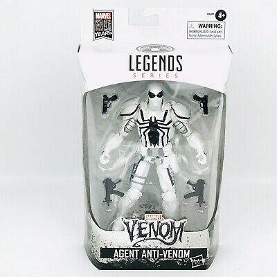 Marvel Legends Agent Anti-Venom White Box 80 Years 6 Inch New in Sealed Box