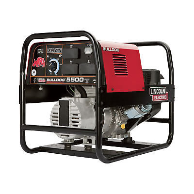 Lincoln Bulldog 5500 Portable Ac Weldergenerator -140 Amps 5500 Watts K2708-2