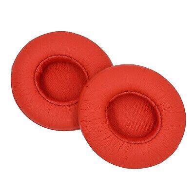 AHG Solo 3 Rojo Almohadillas Oídos Para Beats Auriculares Inalámbricos