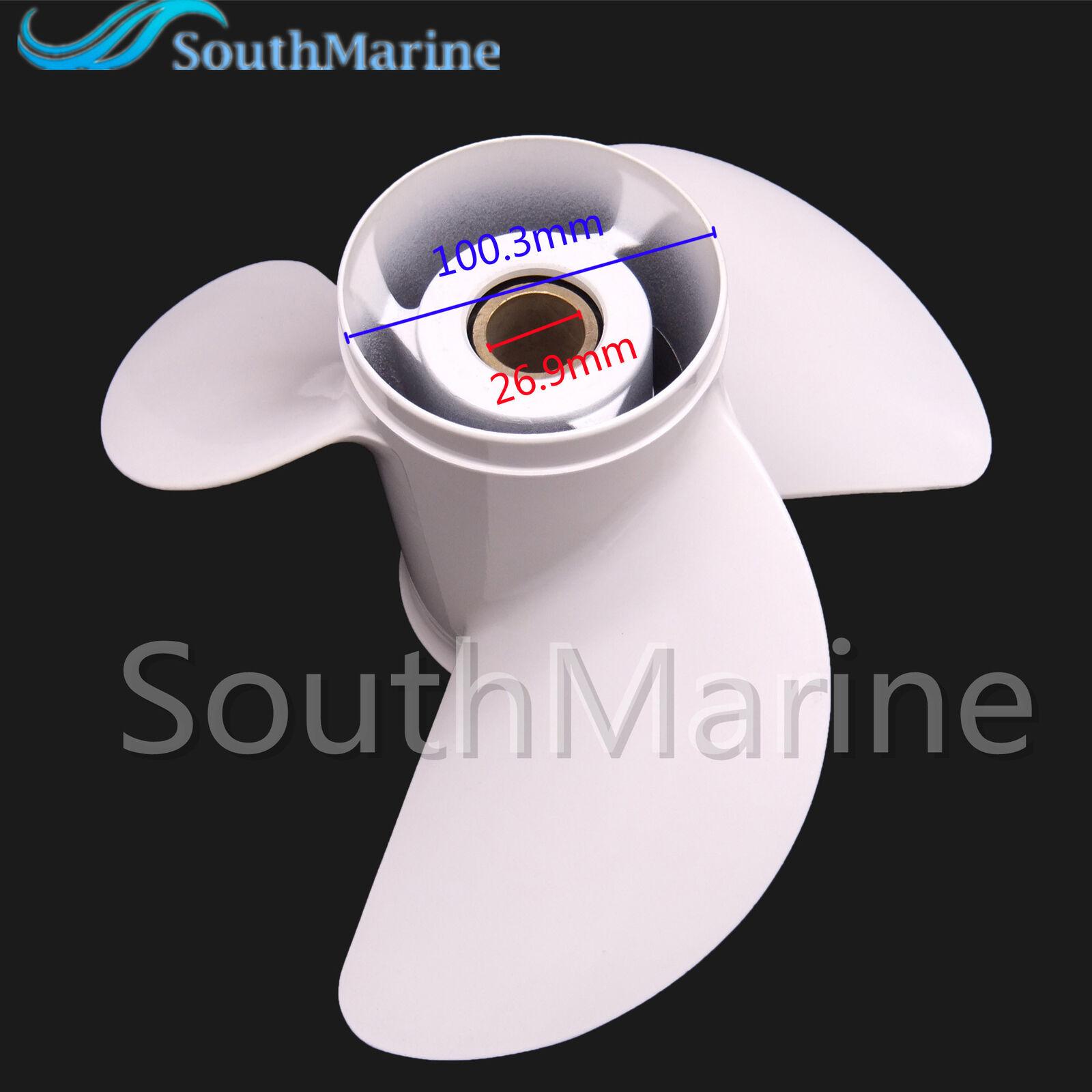 6E5-45947-00-EL Boat Motor Aluminum Alloy Propeller 13 1/2x15-K for Yamaha 60HP