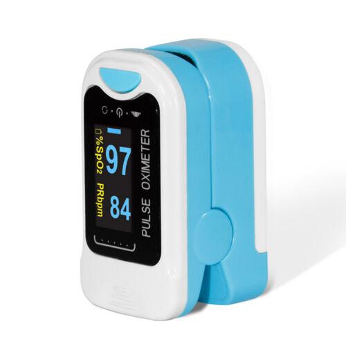 Finger Tip Pulse Oximeter SpO2 Heart Rate monitor blood oxygen Sensor Meter OLED