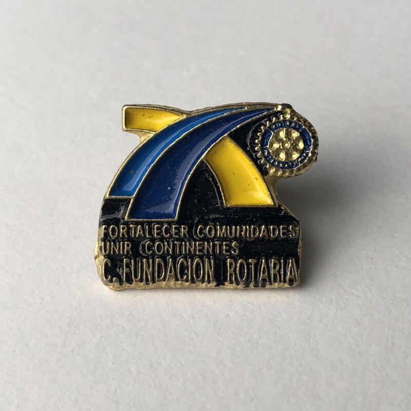 fortalecer Comunidades Rotary Club Pin