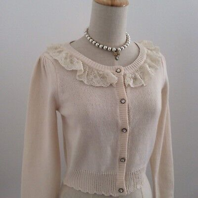 LIZ LISA Cardigan Long Sleeve Kawaii Japan Gyaru Fashion Hime Lolita #16147