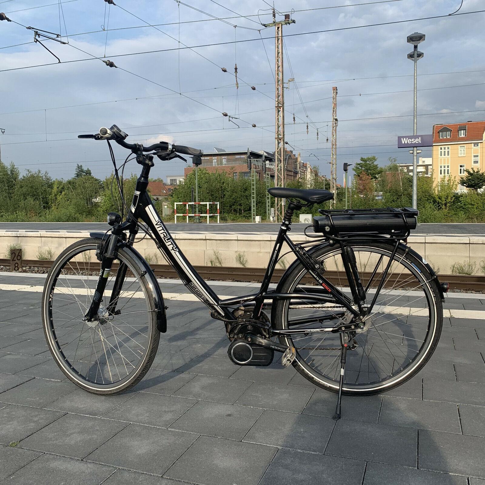 E-Bike KREIDLER RH 52 cm *BOSCH *SHIMANO 8-Gg. *MAGURA HS11 28 Zoll schwarz
