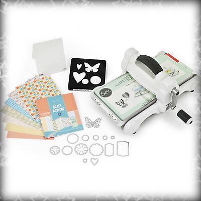 Big Shot Starter Kit - Prägemaschine / Stanzmaschine + Starter Zubehör DIN A5