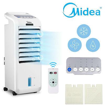 Klimagerät Luftkühler Midea AC100-16BR Fernbedienung Befeuchtungsfunktion