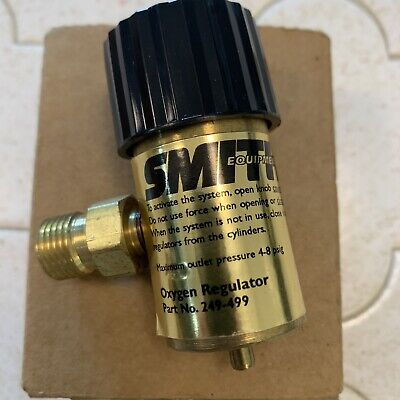 Smith Little Torch Preset Oxygen Regulator 249-499 For Use With Disposable Tank