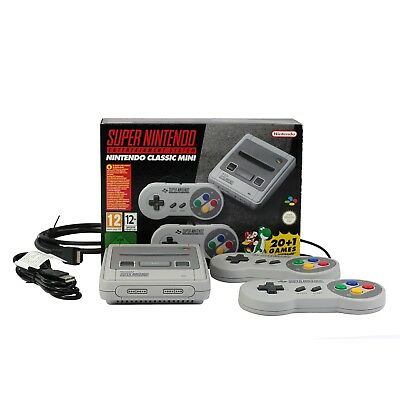 Nintendo Classic Mini SNES Super Nintendo Entertainment System inkl. 21 Spiele !
