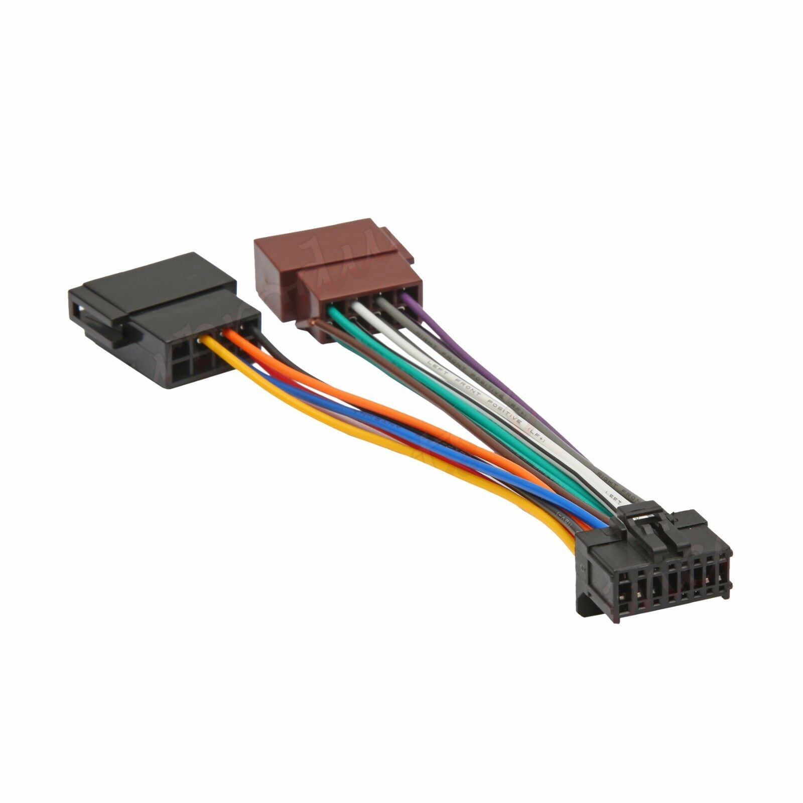 details about pioneer 16 pin iso wiring harness connector adaptor car stereo radio loom  wiring harness connector pins #14
