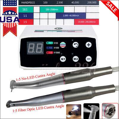 Dental Nsk Style Brushless Led Electric Micro Motor 15 Increasing Handpiece Jl