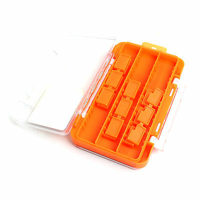 Fishing Tackle Box Hooks Spoon Lure Sink Storage Case Double Side HT-1175