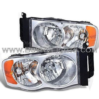 TIFFIN ALLEGRO BUS 2007 2008 2009 PAIR SET HEADLIGHTS HEAD LIGHTS FRONT LAMPS RV