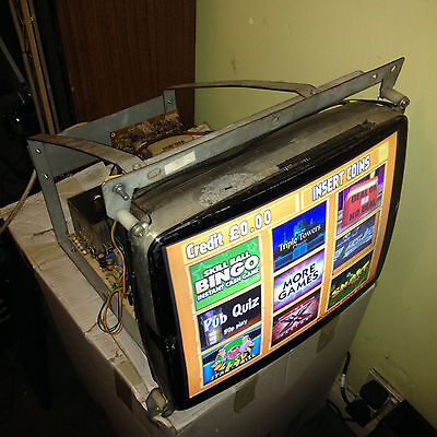 "PENTRANIC digital monitor 19"" mame,jamma,arcade,quiz,jukebox retro touchscreen"