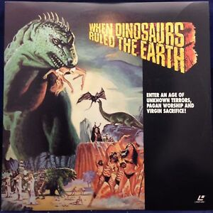 WHEN DINOSAURS RULED THE EARTH DVD Victoria Vetri Val Guest BRAND NEW