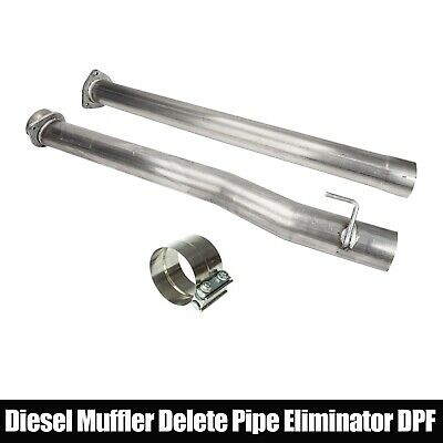 For Ford Super Duty 2011 17 67L Diesel Truck Muffler Delete Pipe Eliminator DPF