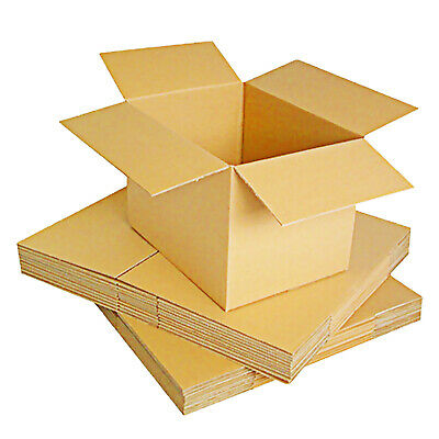 10x Double Wall Large Cardboard Boxes for Moving postal Packing Mailing Shipping