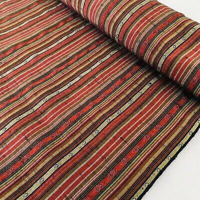 Gem Silk Tsumugi Bolt BY THE YARD UnUsed Japanese Kimono Fabric Authentic BS41