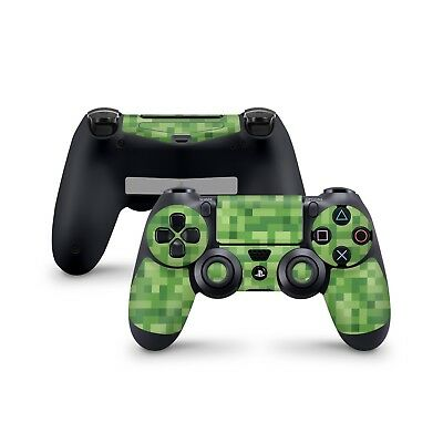 Minecraft Green Skin For Sony Playstation 4 Dualshock Wireless Controller PS4 - Minecraft Green