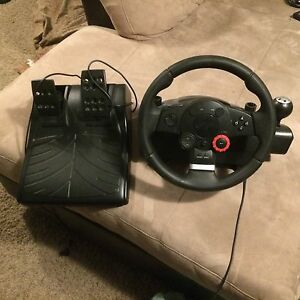 PLay station driving wheel and peddles