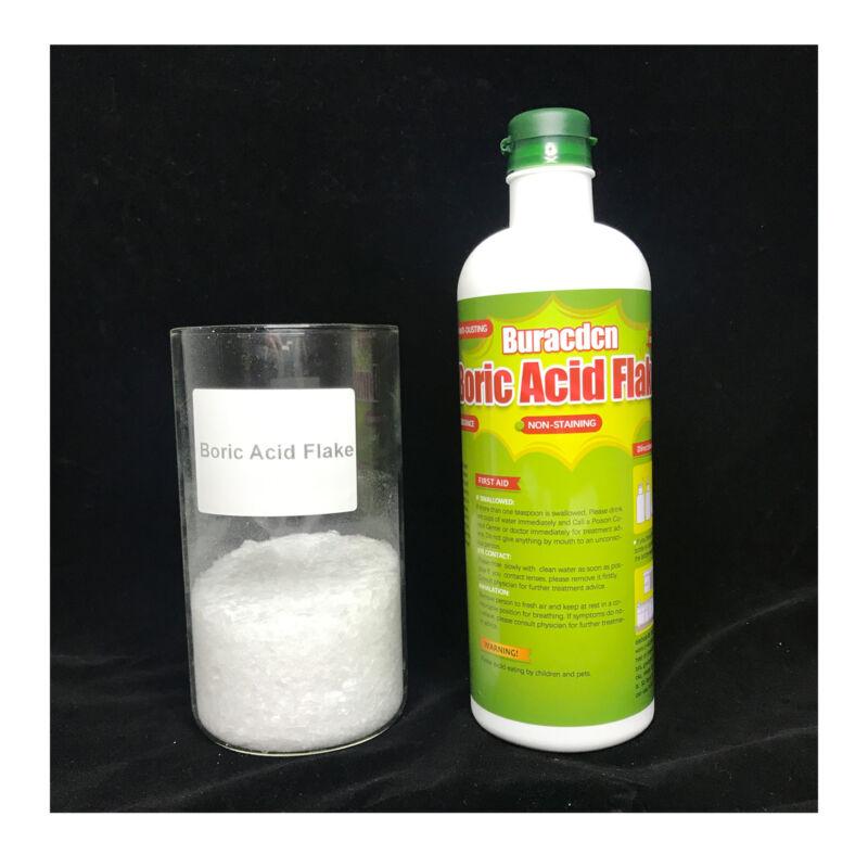 Cockroach Killer Roach Termite Ant Bait Pest Control Boric Flake Acid 1lb