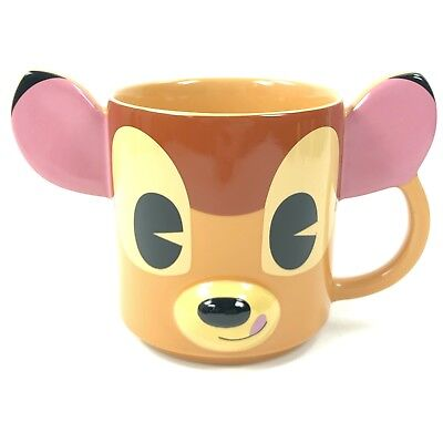 Bambi Ears (HTF Disney Store Authentic 3D BAMBI Dimensional Ears 12 oz Cute Cup Coffee)