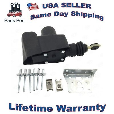 Power Door Lock Actuator  w/ Rubber Cover and Mounting Bracket Buick Chevy GMC