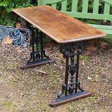 Cast Iron Based Hall Table Martin Gosnells Area Preview