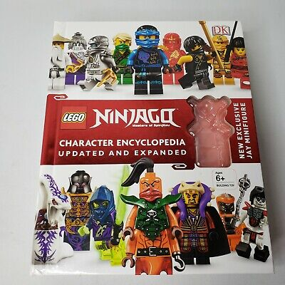 LEGO NINJAGO Character Encyclopedia Updated Edition Missing Minifigure