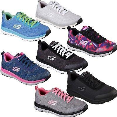 Womens Skechers HC Health Care Pro Slip Stain Resistant Occupational Nurse Shoes