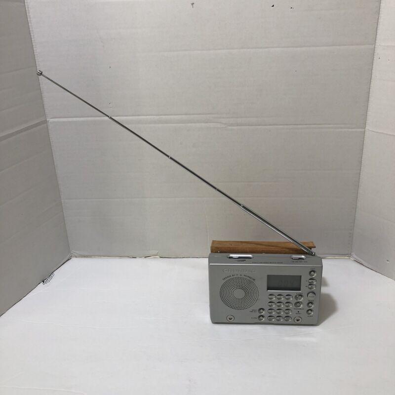 Grundig YB-P 2000 World Receiver AM FM Shortwave Radio F.A. Porsche design