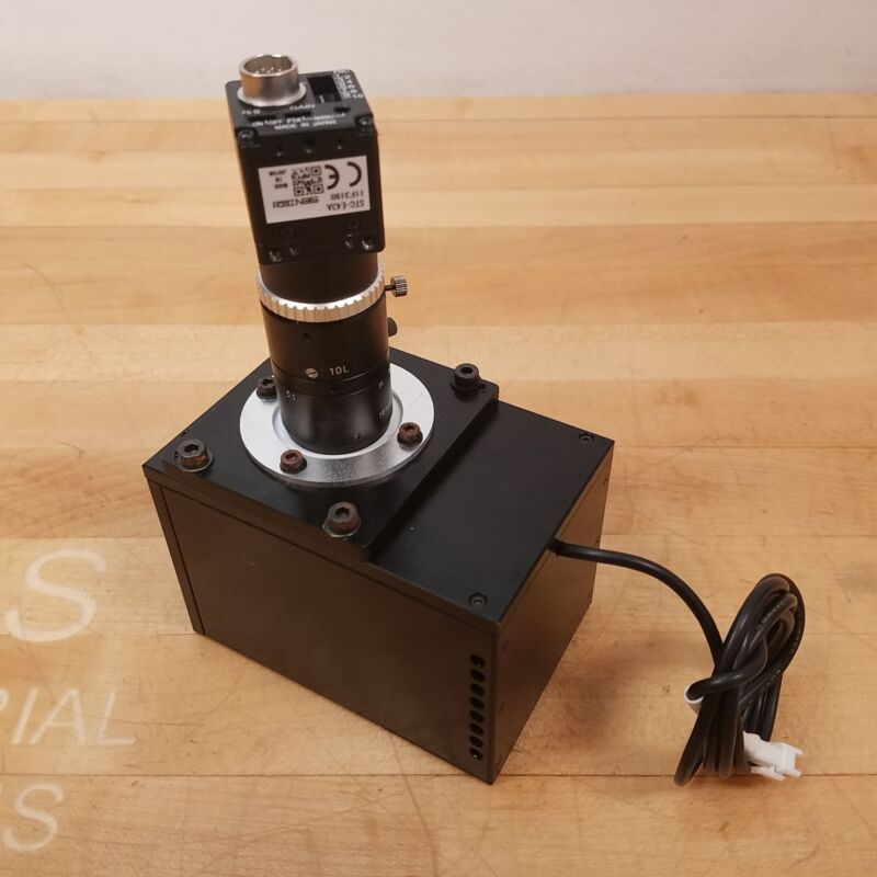 SenTech STC-E43A Black and White CCD Industrial Camera With Light Box - USED