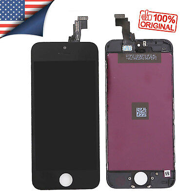 Black LCD Display Touch Digitizer Assembly Screen Replacement For iPhone 5C