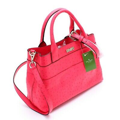 NWT Kate Spade RARE Charm City Bow Satchel Crossbody Handbag Bag Purse New $428
