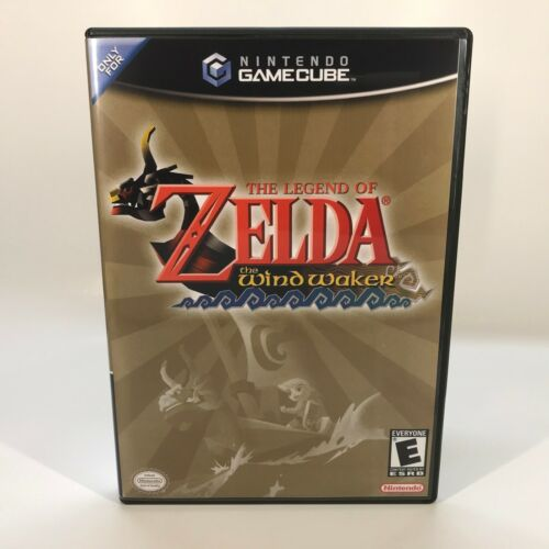 GameCube Replacement Case NO GAME - Case Only - Legend of Zelda, Windwaker