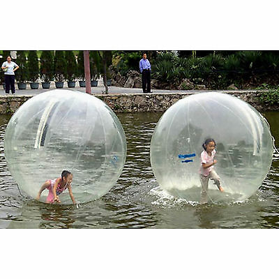 DE Zorb 2M Walk Water Walking Dance Ball Roll Ball Inflatable Ball Tizip Zipper