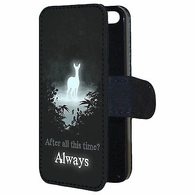 Harry Potter After All This Time Always Quote Flip Wallet Phone Case Cover (Harry Potter After All This Time Always)