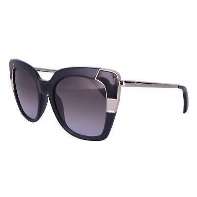 Salvatore Ferragamo Sunglasses SF889S 057 Black-Crystal Grey Women 52x19x135