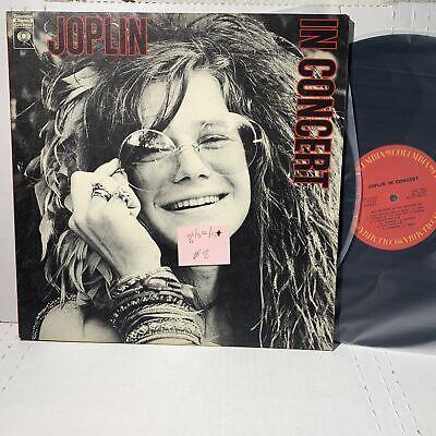 Janis Joplin IN Concert- Columbia C2X31160 VG+x2/VGx2 /VG+ comprar usado  Enviando para Brazil