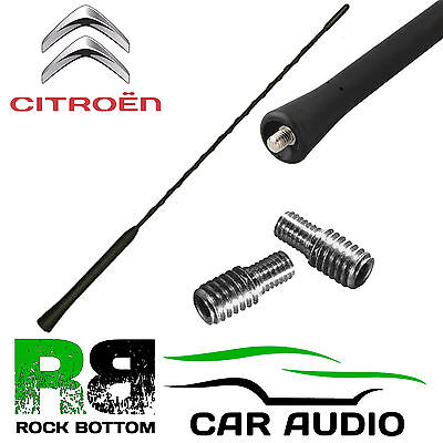 Citroen C1 Whip Bee Sting Mast Car Radio Stereo Roof Aerial Antenna