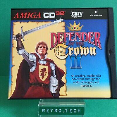 Defender Of The Crown II - Commodore Amiga CD32